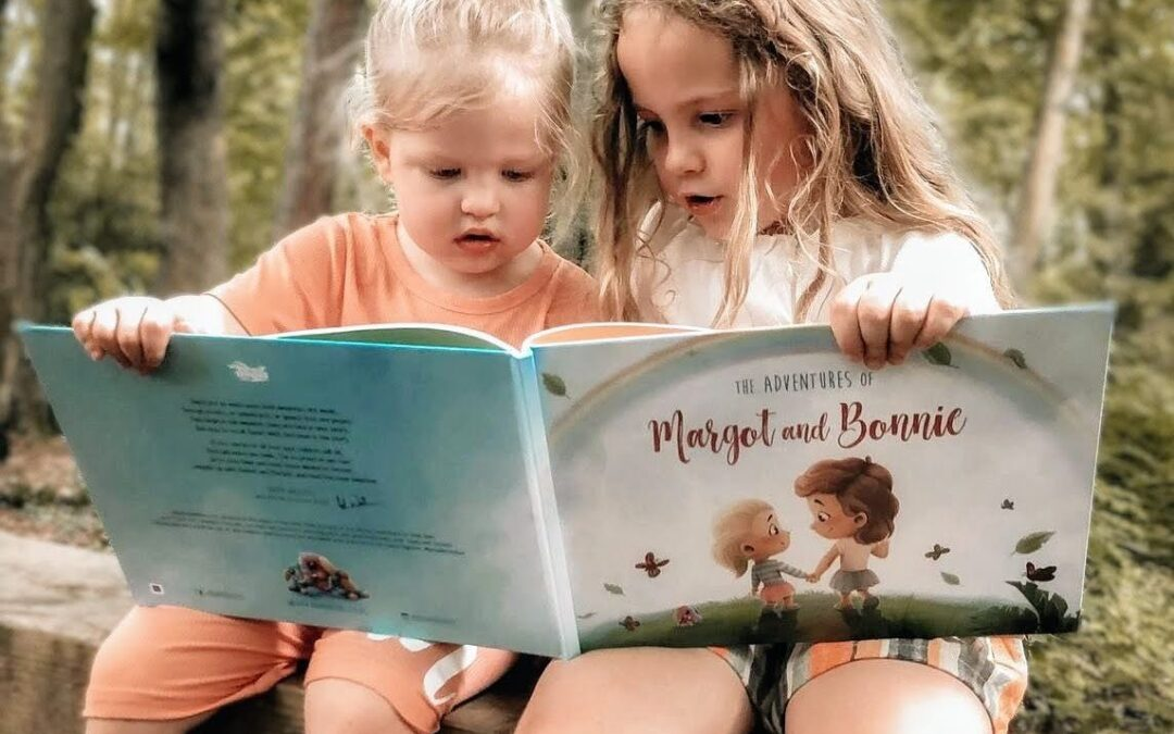 A book to cherish – a gift that strengthened the bond between my girls